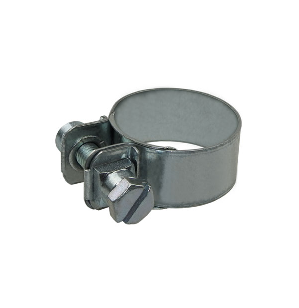 Hose clamp with fastening lugs DIN 3017-2