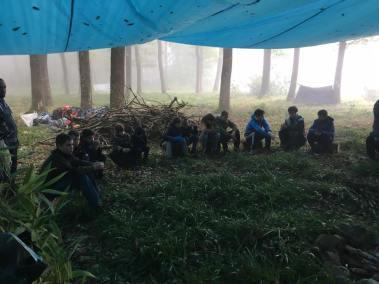 stage survie krav maga bruxelles enfants et parants kids adultes repos à l'abri de la pluie