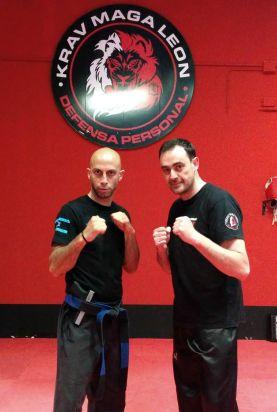 Roy Elghanayan en Krav Maga Leon