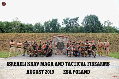 Krav Magá and Firearms in ESA Polonia