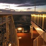 DFDS Roof Deck View