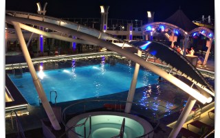 Main Pool Deck on Genting Dream