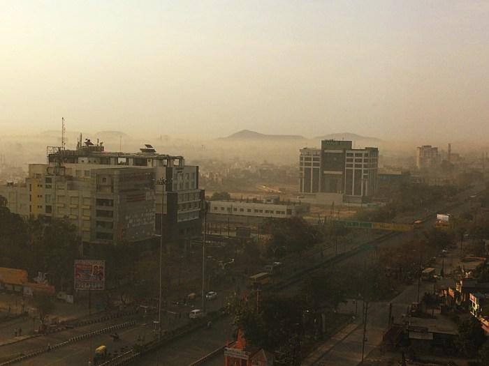 Radisson Blu Indore Morning View