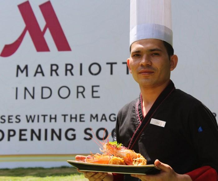 Indore Marriott Chef Chet