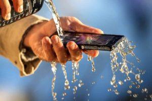 Sony Xperia Z Water Resistant