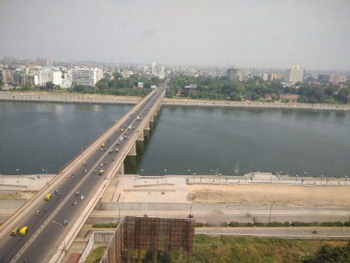 Sabarmati River View from Patang Hotel