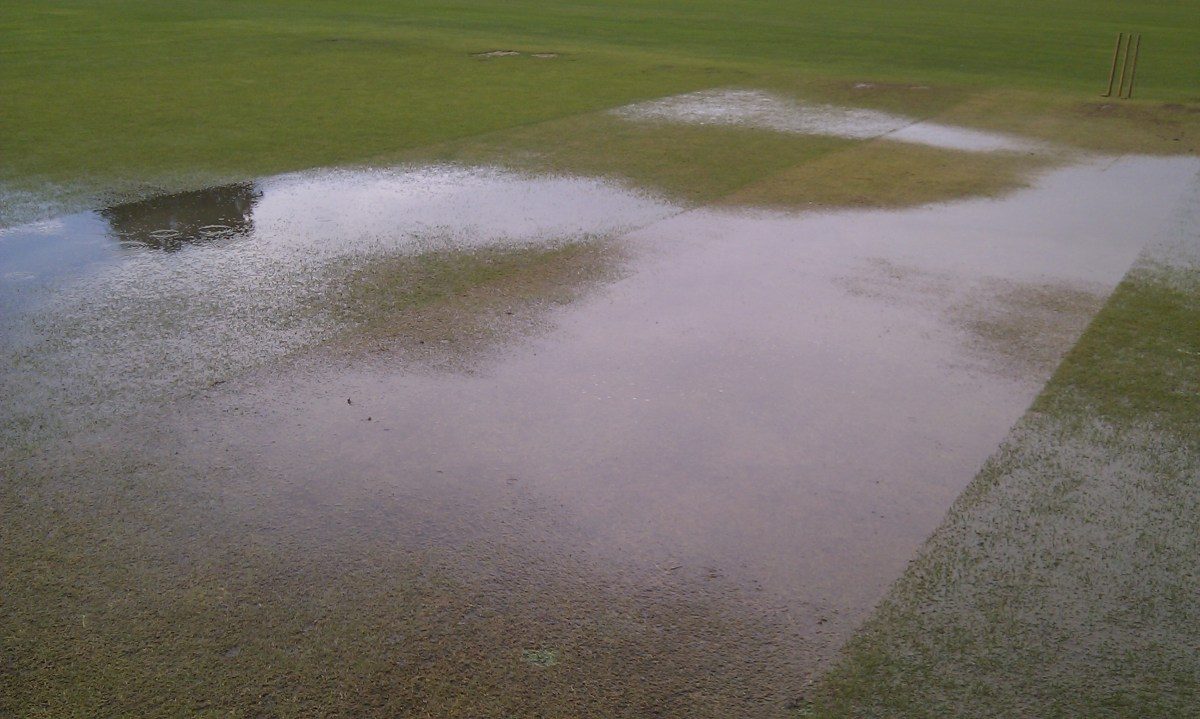 What a washout: Road's game in Kidbrooke called off