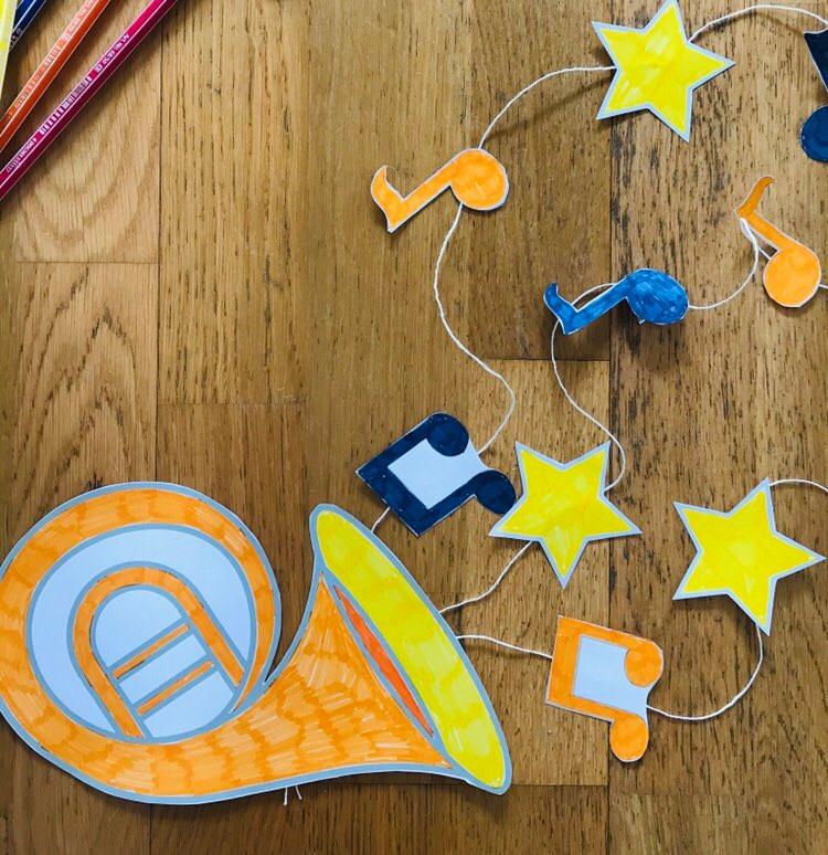 Activité pour enfant les instruments de musique