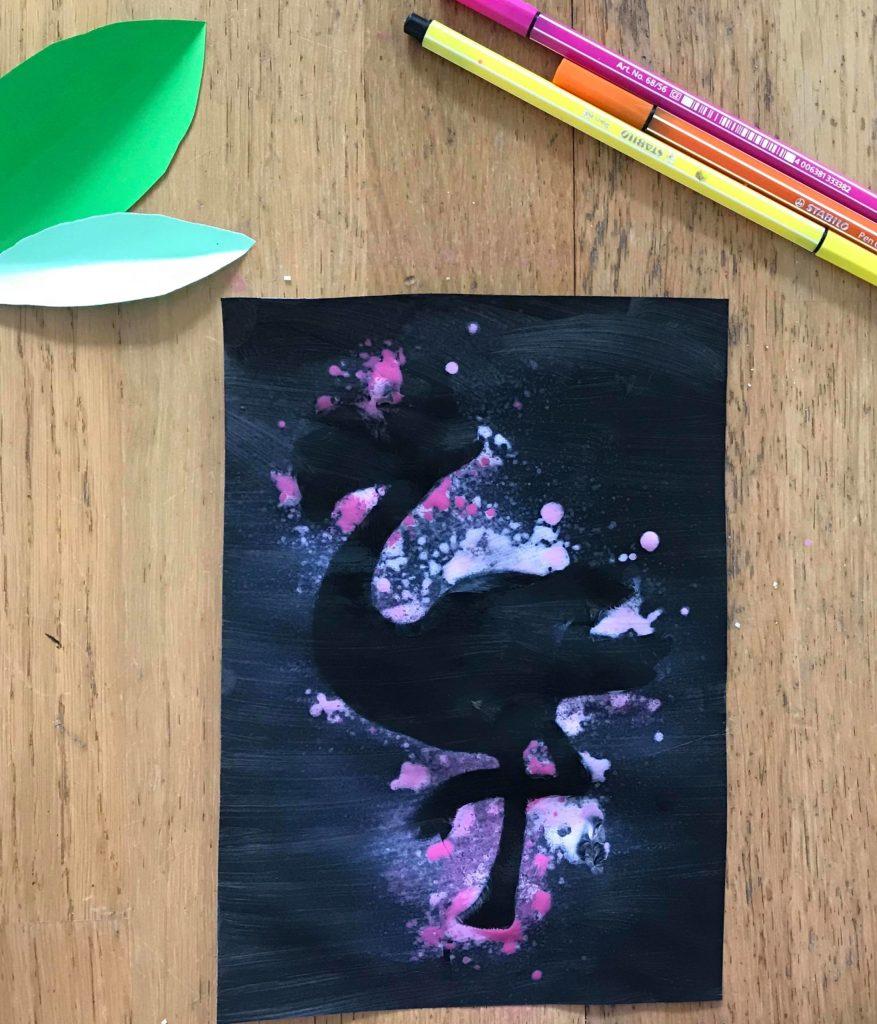 Peinture au spray pour enfant