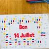 Coloriage 14 juillet pour enfant