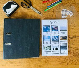 Kit DIY classeur d'activité