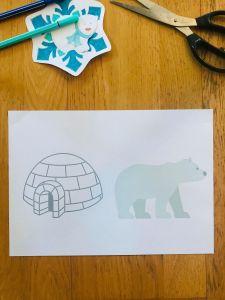 Activité ours polaire pour enfant