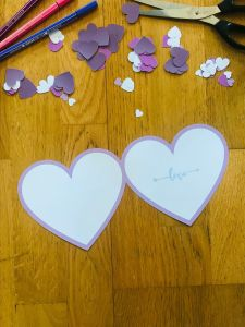 DIY carte coeur