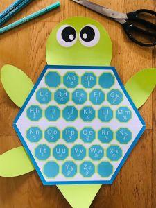 Alphabet pour enfant à accrocher aux murs