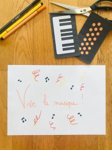 Bricolage fête de la musique