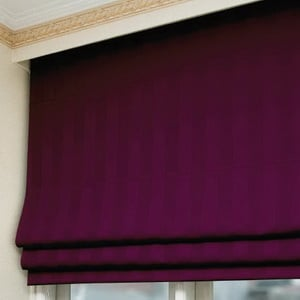 Roman Shades Platinum - Semi Blackout