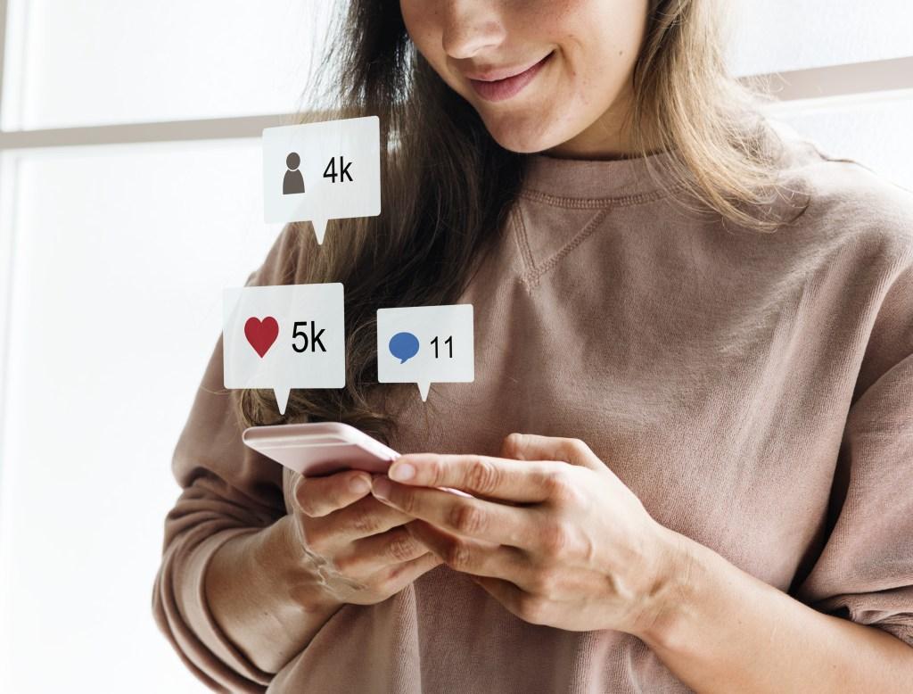 tendências das redes sociais