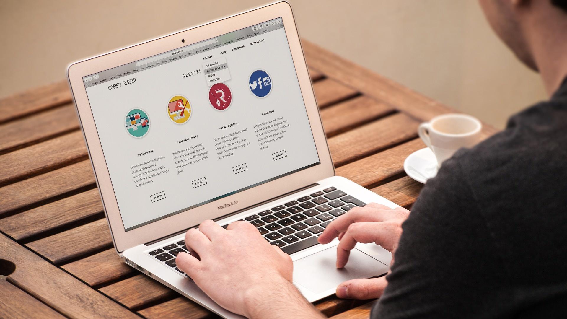 Criação de Site: Estratégia para fortalecer sua presença digital