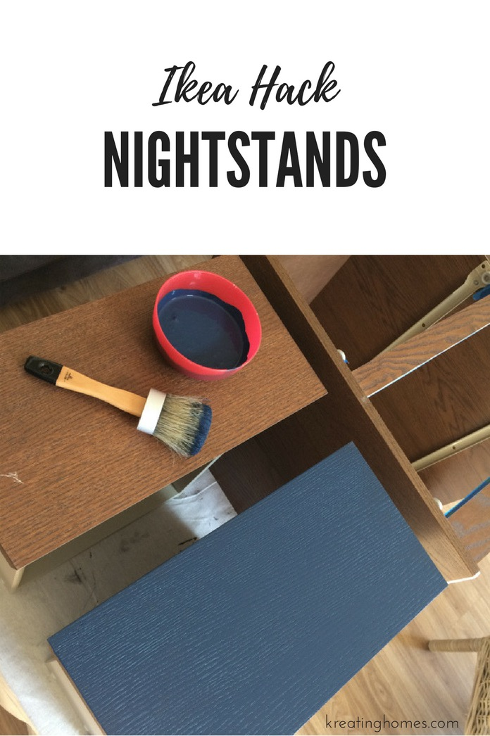 Old Ikea Nightstands ... Ikea Nightstand Hack: Turn those old MALM nightstands into new fabulous  beside furniture with just ...
