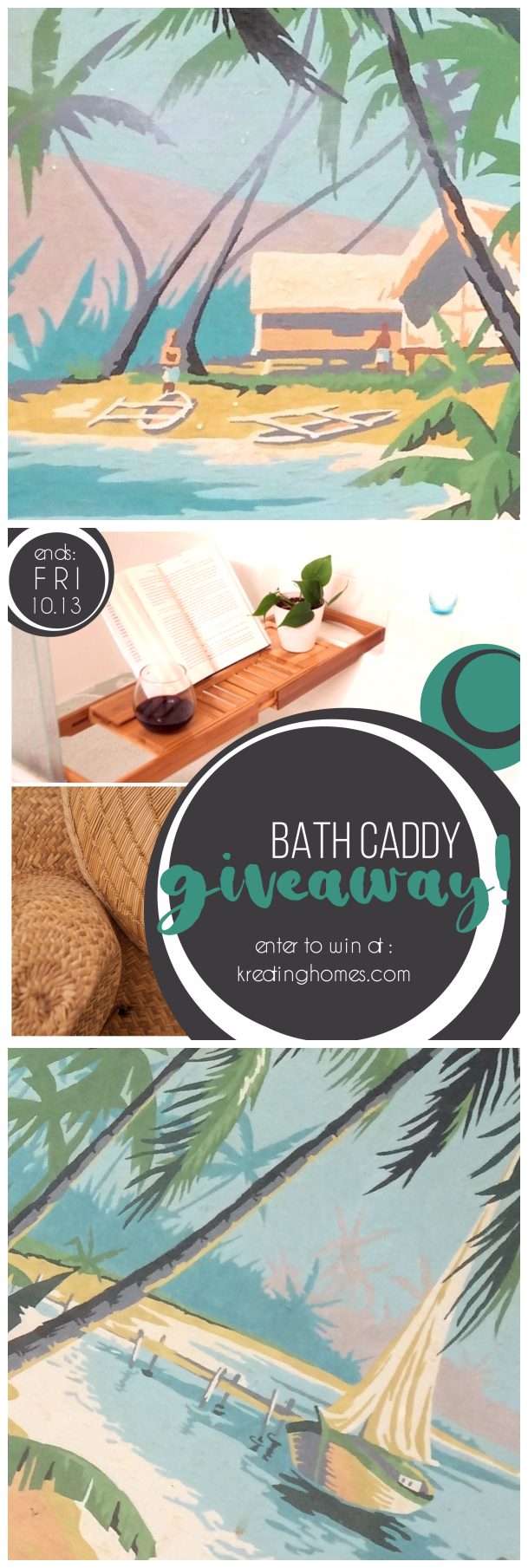 Bath Caddy Giveaway