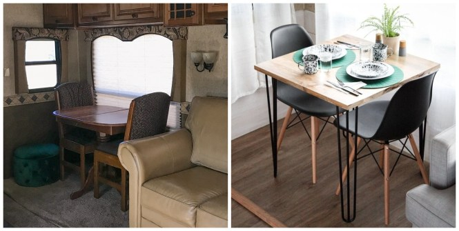 Updating Rv Furniture Kreating Homes