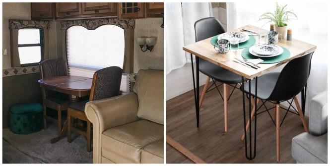 Updating Rv Furniture Kreating Homes