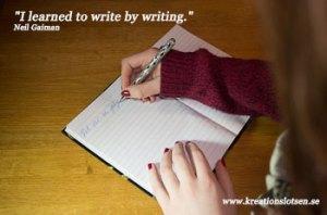 Kreationslotsen, skrivpedagog, författarcoach