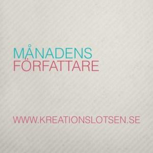 Månades författare, Kreationslotsen, skrivcoach, skrivkurser, Jeanette Niemi