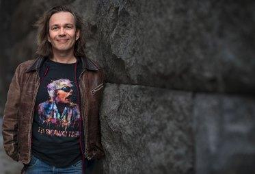 Risto Pakarinen i Skrivradion Foto: Susanne Kronholm