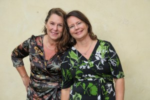 Anna-Maria Ekblad o Jeanette Niemi arrangerar Bokskrivarfestivalen