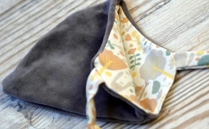 Wende-Mütze Theo für Frühchen und Neugeborene