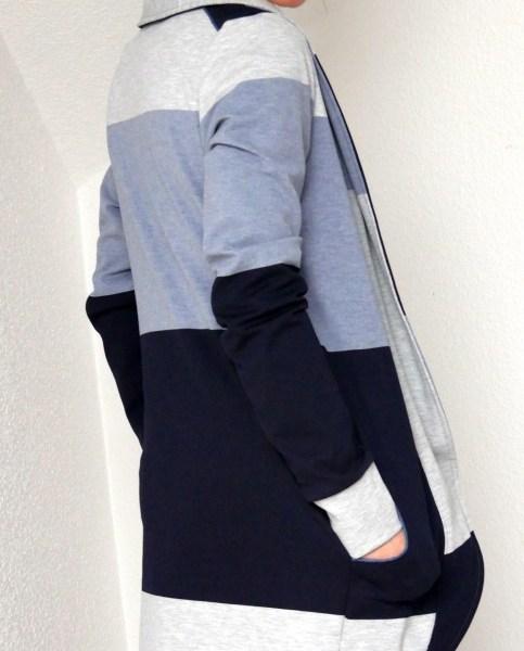 Cardigan Lovisa - lange Variante - ein Gemeinschaftsprojekt von Kreativlabor Berlin und Zierstoff