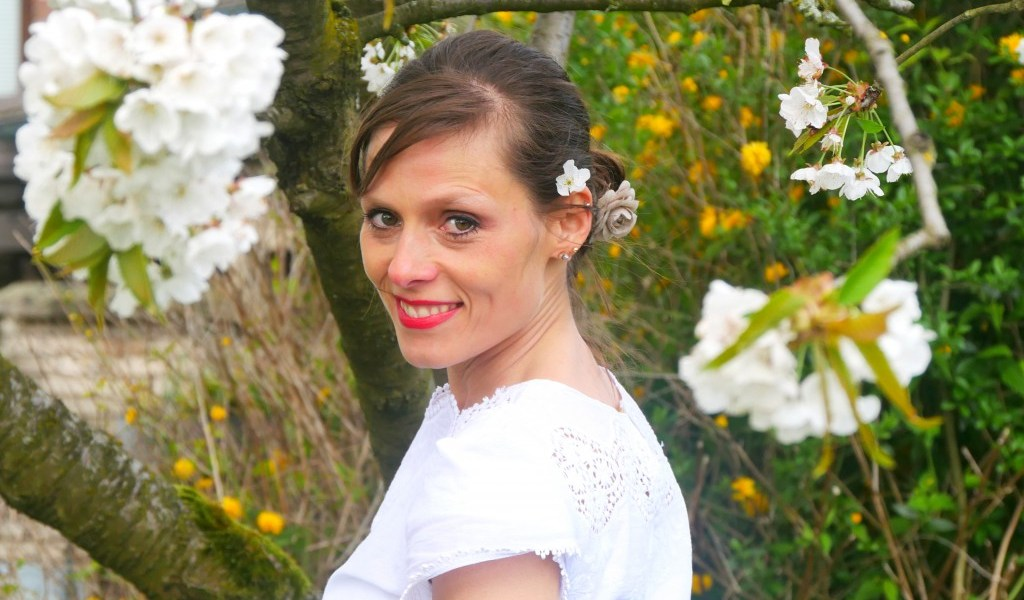 Sommerkleid NOA mit Tulpenärmeln