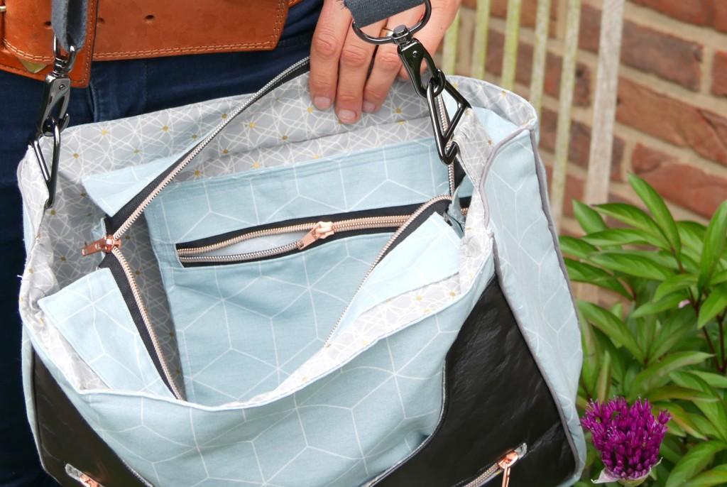 Handtasche Anouk Schnittmuster von frau Fadenschein aus ihrem Buch 1 Frau 16 Handtschen