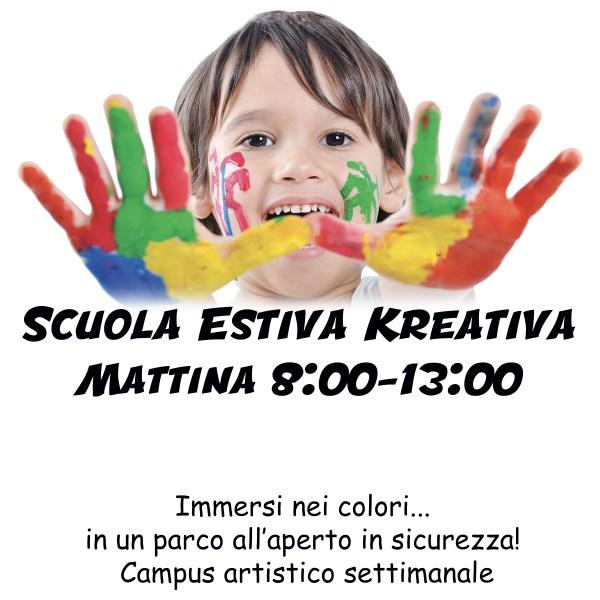 ScuolaEstivaBambini2020 Mattina nomasch - Kreativa