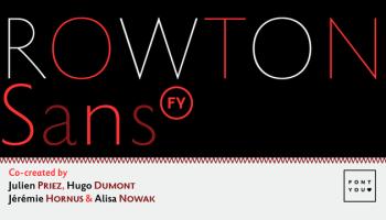 Gill Sans Nova font - Kreativ Font