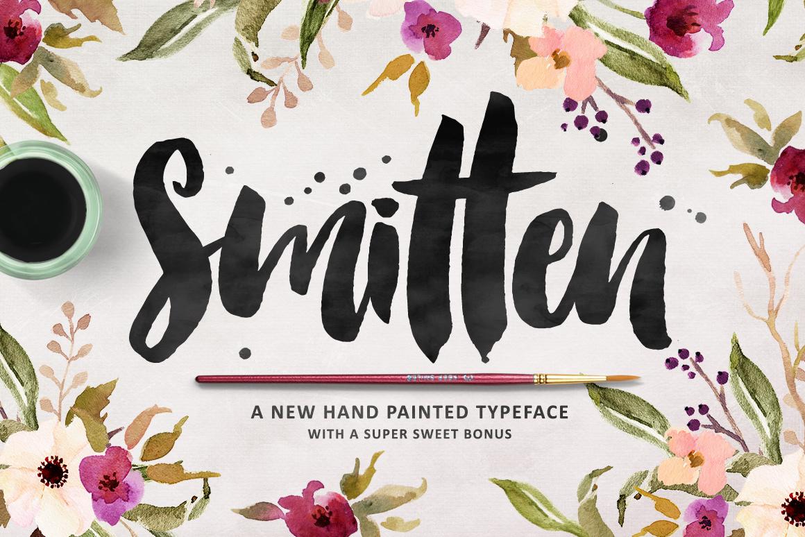 Smitten Font Kreativ Font