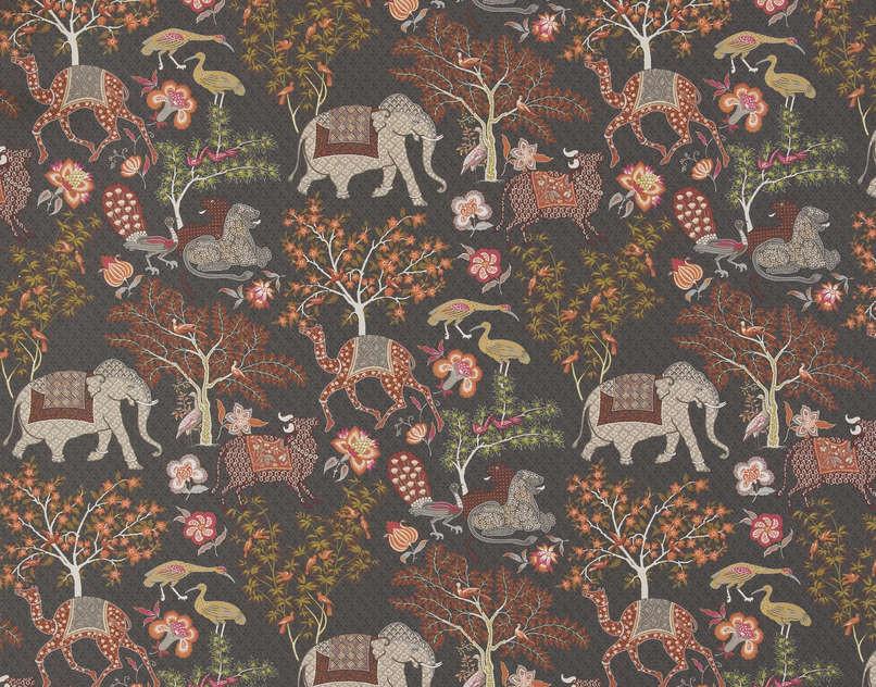 pierre frey jardin de mysore fp310004 brun
