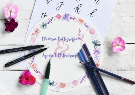 Handlettering Kunrau Kreativhof Lettering Workshop