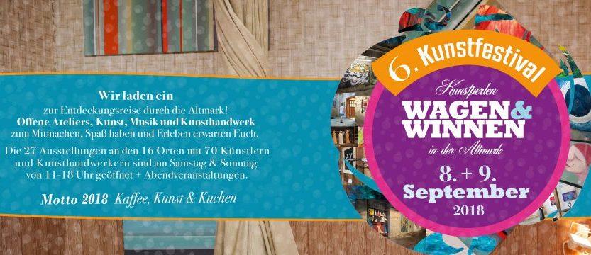 Wagen&Winnen 2018 zu Gast auf dem Kreativhof Kunrau