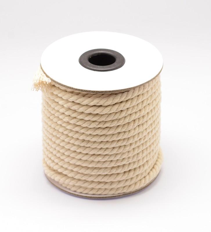 Bavlnená šnúra točená 4 mm, 18,30 m Image
