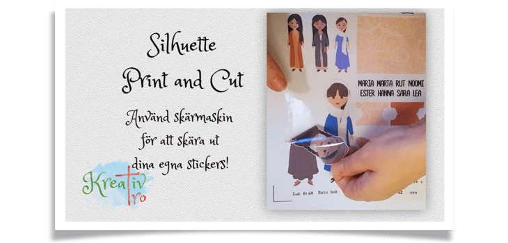 Silhuette Print and Cut