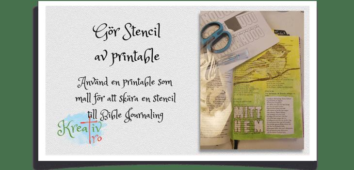 Stencil Printable