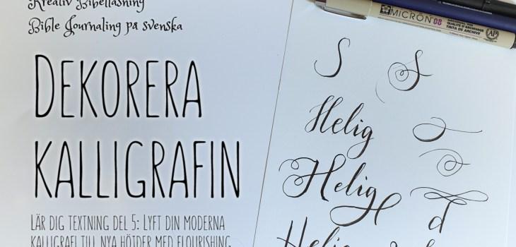 Dekorera kalligrafi
