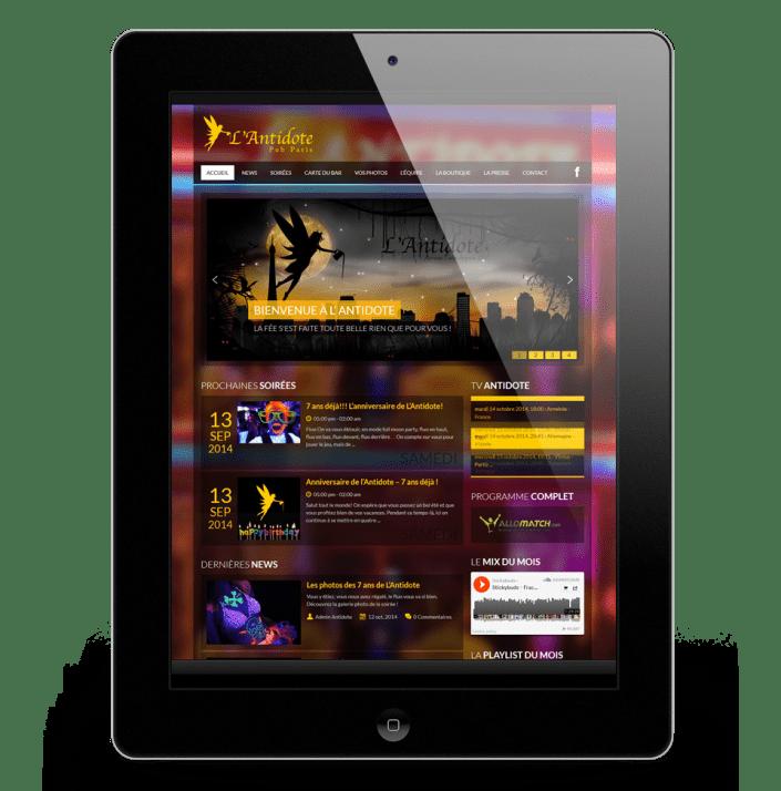 Kreatox - Cédric Darrigrand - Concepteur Web - Mimizan - L'Antidote