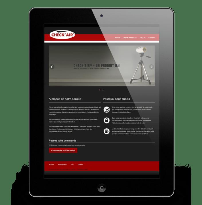 Kreatox - Cédric Darrigrand - Concepteur Web - Mimizan - Check AIr