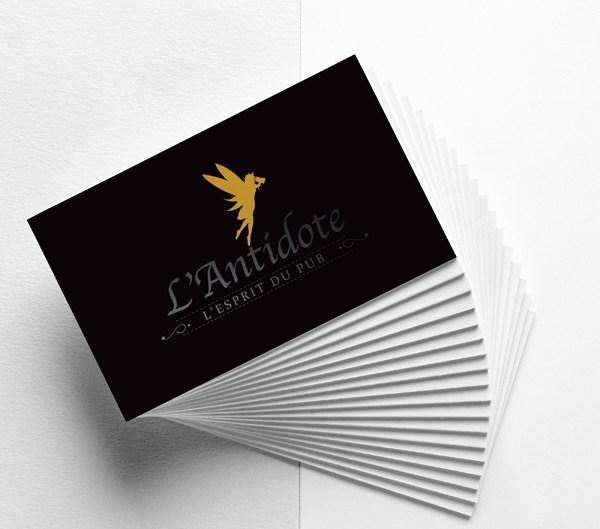 Cédric Darrigrand Graphiste Mimizan Landes 40 - Carte de visite - L'Antidote