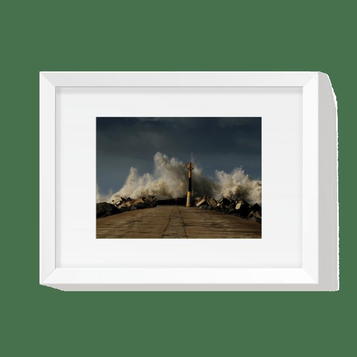 Cédric Darrigrand Photographe Mimizan - Dark Day Digue Anglet