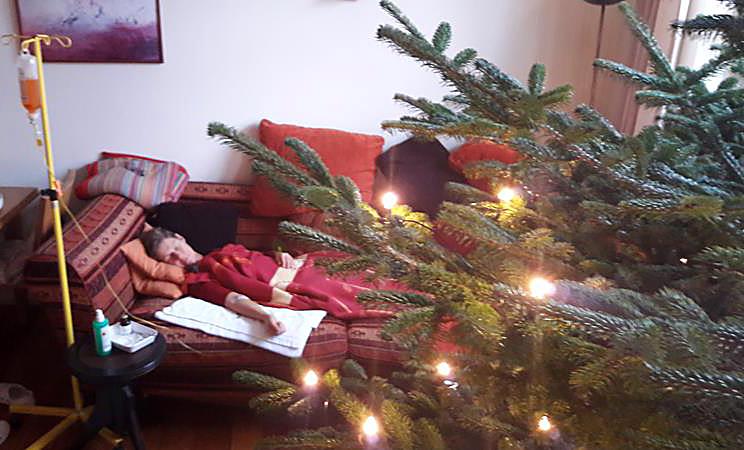 Infusion unterm Weihnachtsbaum…