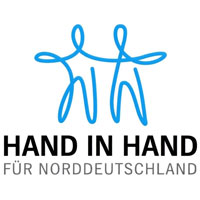Hand in Hand für Norddeutschland Logo